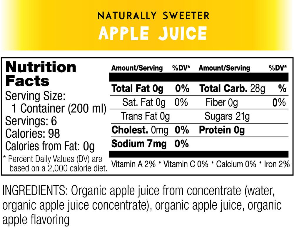 Organic Fruit Juice Cups - Wacky Apple