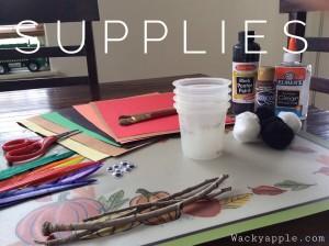 Thanksgiving craft supplies