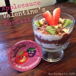 Valentine's parfait