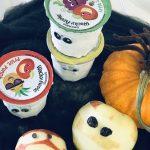 Halloween Mummy Juice & Fresh Apples